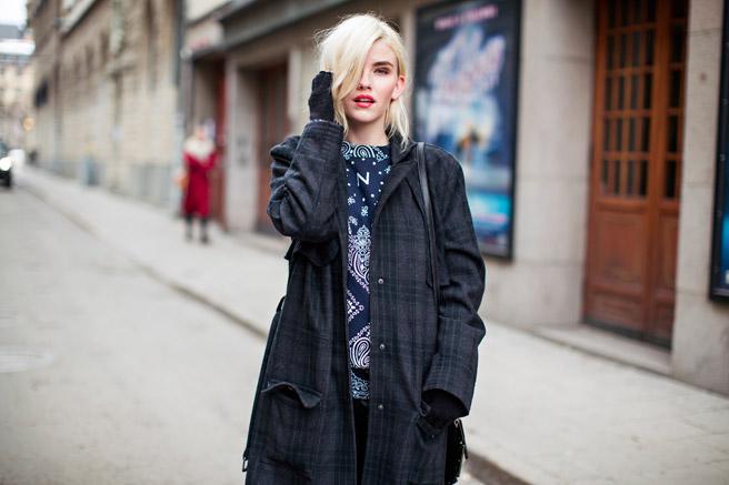 Street Style Stockholm Fashion Week 2014 Balenciagaish