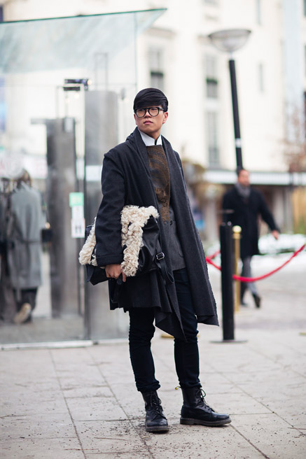 Street Style Stockholm Fashion Week 2014 Balenciagaish