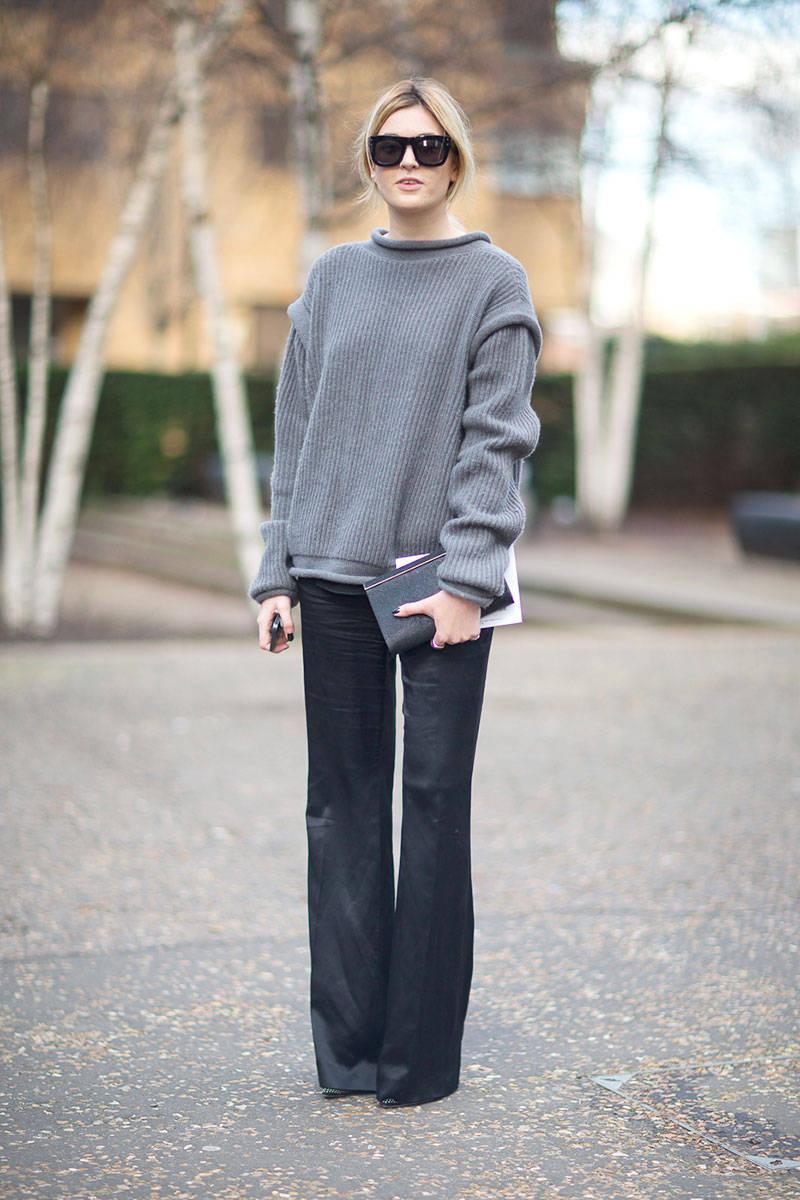 Street Style London Fashion Week Fall 2014 Balenciagaish