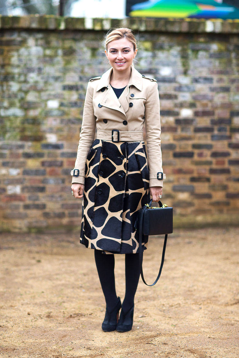 Street Style London Fashion Week Fall 2014 Balenciagaish